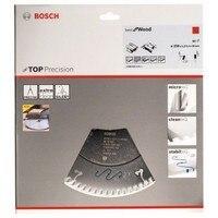 BOSCH 2608642113 Disco de serra circular CSB Top de Madeira Precisão 250x30x80D ATB