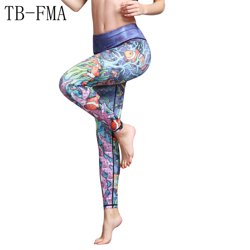 Running Pants Tights Yoga Fitness Sports wear Leggings For Women Sports Tight Mesh Yoga Leggings Yoga Pants Women Pants Tight