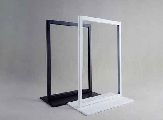 Metal Screen Signage : Popular sign display stands buy cheap
