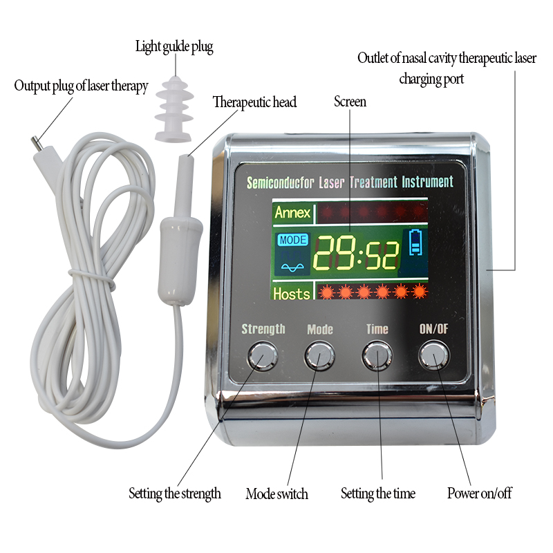 Health Physiotherapy Apparatus 650nm Laser Therapy LLLT To Treat Diabetes Rhinitis Cholesterol Hypertension Cerebral Thrombosis diode 650nm laser lllt physiotherapy therapy watch for diabetes cholesterol hypertension cerebral thrombosis rhinitis treatment
