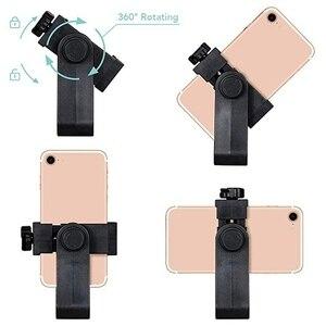 Image 4 - Rovtop Tripod montaj adaptörü cep telefonu makası tutucu dikey 360 rotasyon Tripod standı iPhone X 7 artı Samsung Tripod