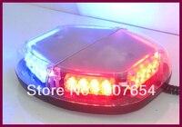 Higher star 35cm 24W Led Mini Warning lightbar,strobe light,emergency light bar with Cigarette lighter,waterproof