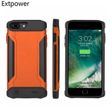 Extpower 5000 mAh For iPhone 6 6S 7 8 shockproof Slim Battery Case For iPhone 6 6S 7 8 Plus Power Bank Charing Cases Back Cover