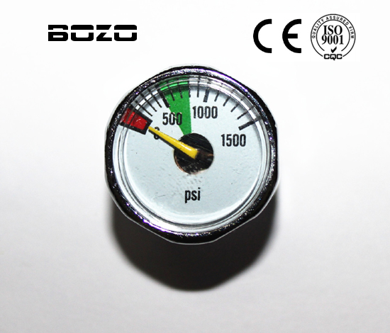 Airsoft Pcp Paint Accessories 1500psi Paintball Micro Gauge New