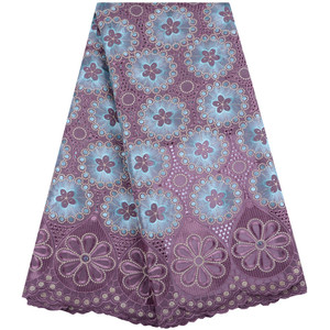 Image 3 - 2019 mais recente francês africano tecido de renda alta qualidade tule algodão renda para vestido swiss voile renda na suíça 1467
