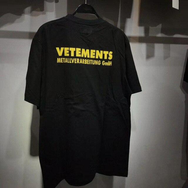 3e58bfb955 Vetements T Camisa Estilo Inglaterra Homens Tops Tees T-Shirt de Algodão  Estampado DHL Express