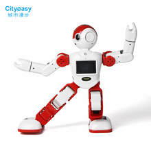 Cityeasy Intelligent Humanoid Robot Voice Control Robot Programming Software APP Control For Security Video Call Child Education(China)