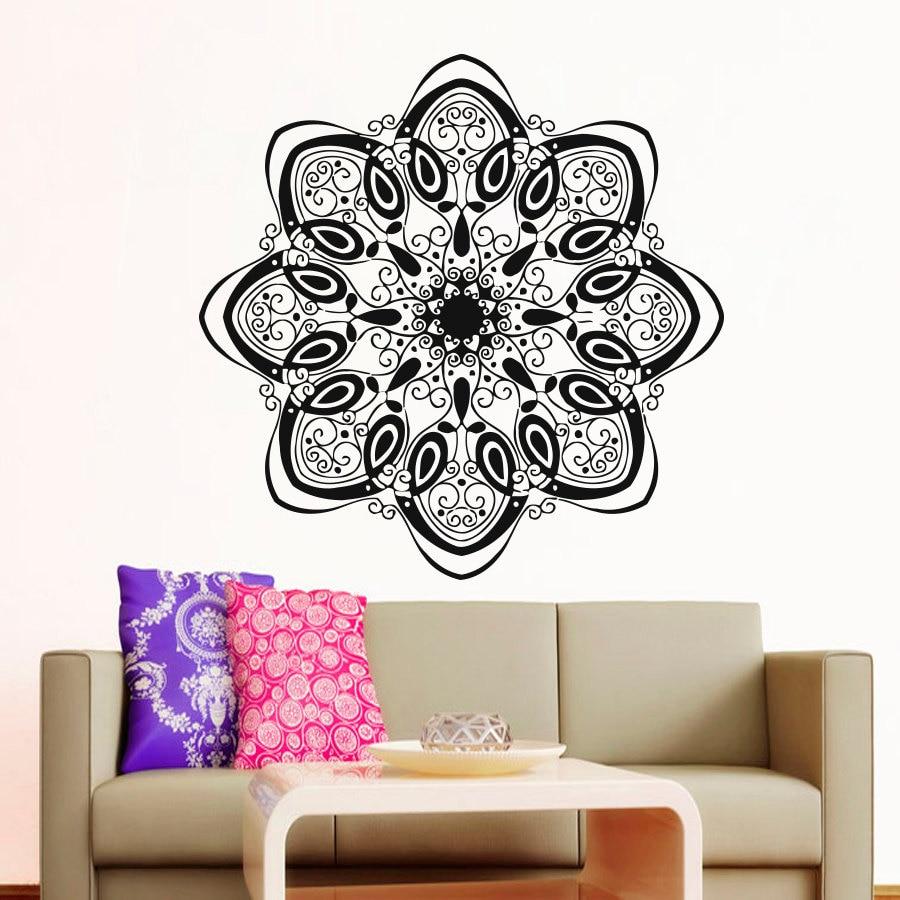 Modern style home decor mandala indian pattern yoga wall for Modern indian home decor