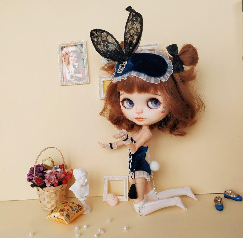 6 teile/satz Sexy blyth Puppen bunny set Kaninchen corsage Spitze Haarband weiß socken Chinese fan für azon s, OB24 Puppen Zubehör-in Puppen-Zubehör aus Spielzeug und Hobbys bei AliExpress - 11.11_Doppel-11Tag der Singles 1