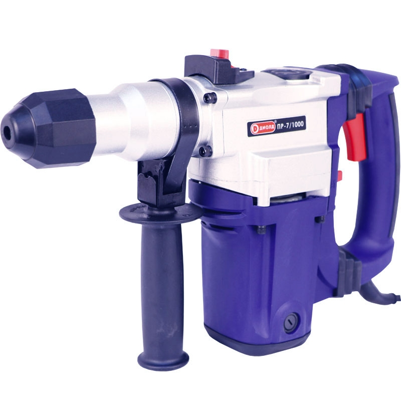 Hammer Drill electric Диолд PR 7/1000 (Power 1000 W, energy impact 3,5 J, антивибрационная system, case) hammer drill electric redverg rd rh1500 power 1500 w drilling in concrete to 36mm антивибрационная system