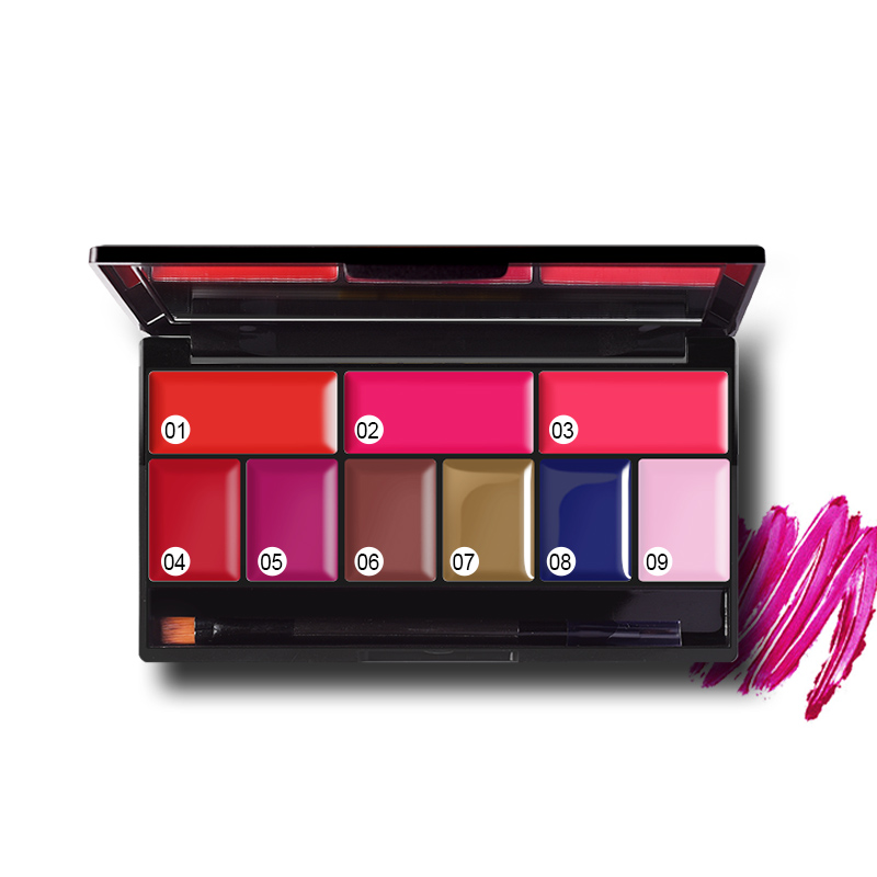 Pudaier 9 Χρώματα Shimmer Χειροποίητη παλέτα - Μακιγιάζ - Φωτογραφία 5
