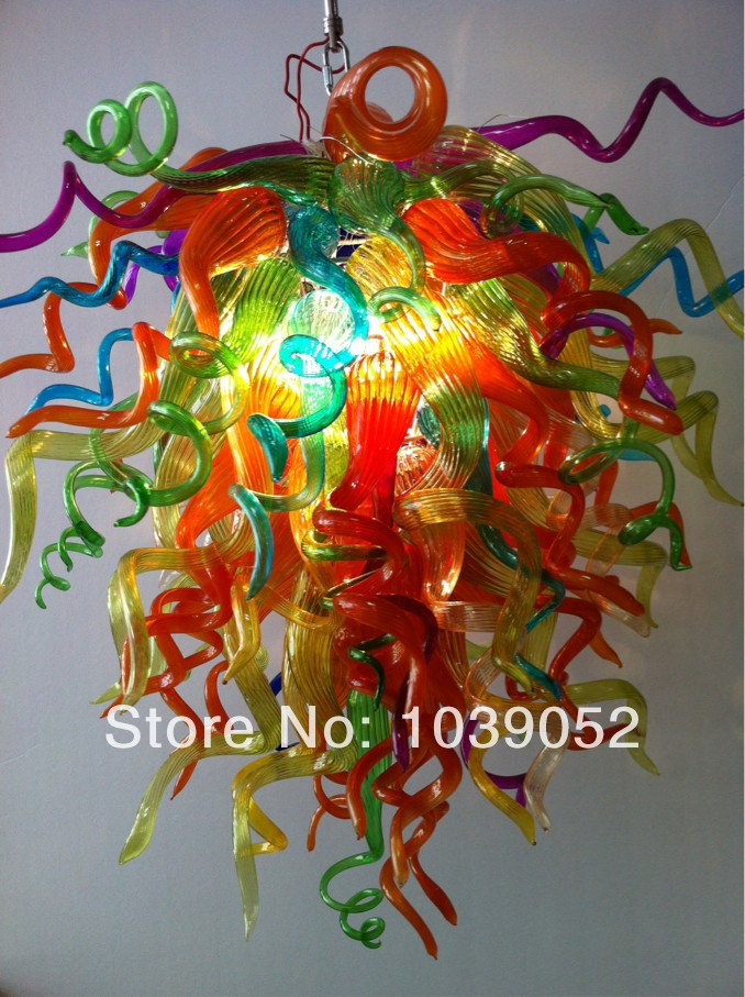 Newest House Decorative Cheap Hand Blown Glass Chandelier Crystals ...