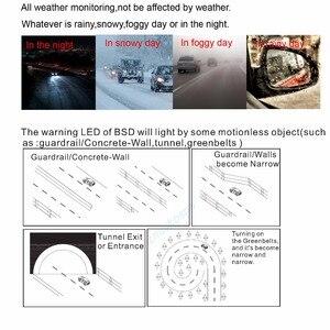 Image 3 - Mikrodalga Kör Nokta Asistanı Sistemi BSD Araba Yan Destek Sistemi Kör Nokta Radar Sensörler Evrensel Herhangi Bir Araç Için Araba SUV