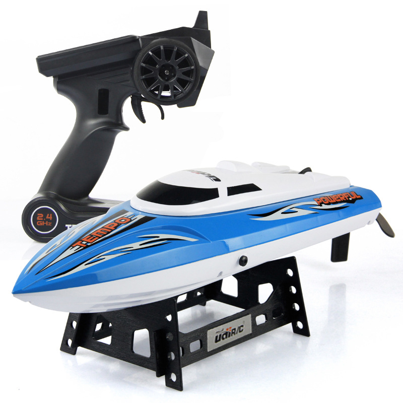 High Quality Fashion Birthday Gift UDI902 RC Boat 4 Channels 150m Remote Control Distance 25KM/H High Speed Boat