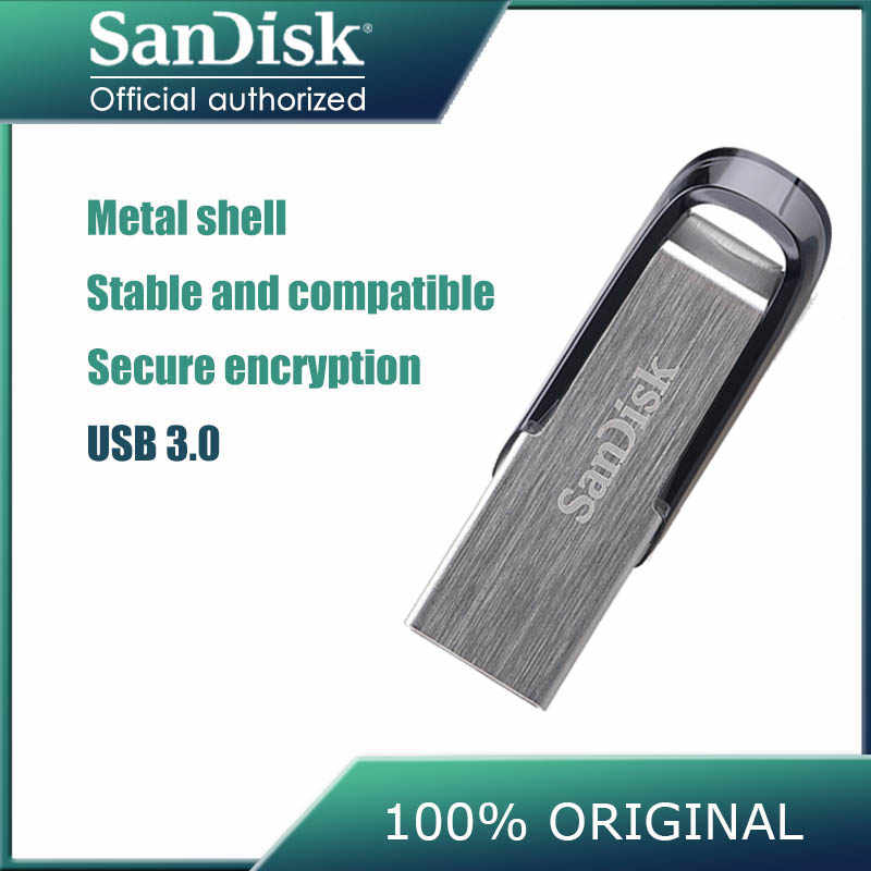 Pen drive 32 gigabytes de sandisk usb 150 mb/s pen drives 64 gb usb 3.0 metal criptografia flash memória vara 128 gb memoria usb 16gb