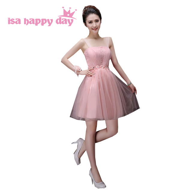 5a7a90882bc40 cheap pink 2019 classy girls size 10 strapless/embellished birthday sweet  16 party gown tulle homecoming dresses for teens H3385