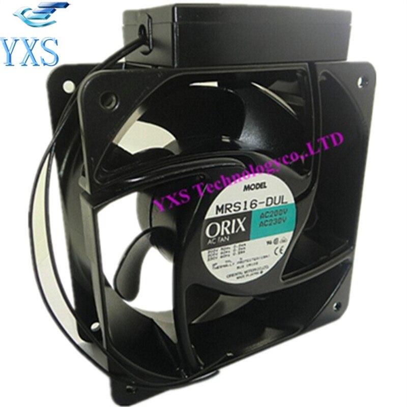 DHL Free MRS16-DUL AC 200-230V 16CM 160*160*62mm 0.24A 45/55W 3300RPM 50-60HZ Industrial Cabinets Cooling Fan brand new a17238v2hbt 230v 50 60hz 24 30w bang sym brand cooling fan