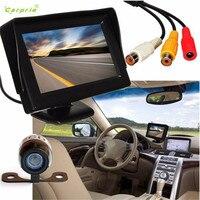 Auto Backup Camera Car Styling Car Styling 4 3 LCD Car Rear View Monitor Night Vision
