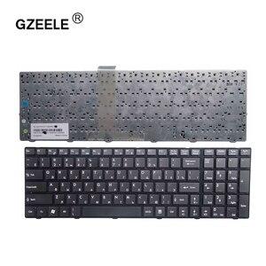 Image 1 - GZEELE MSI A6200 CR620 CX705 S6000 MS 1681 MS 1736 CX705 MS16GB MS16GA 블랙 RU 노트북 키보드 용 러시아어 키보드