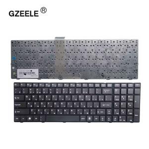 Image 1 - GZEELE Russian Keyboard For MSI A6200 CR620 CX705 S6000 MS 1681 MS 1736 CX705 MS16GB MS16GA black RU laptop keyboard black
