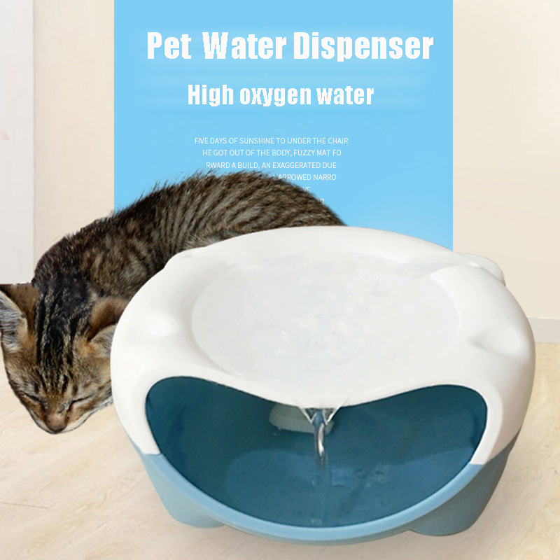Automatic Pet Dog Drinking Fountain Cat Drinking Bowl Electric Water Fountain For Small Dog Cat Us ,eu ,de ,uk Plug Avaliable
