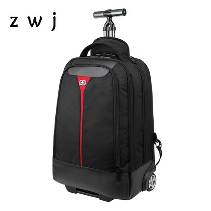 Business Large Capacity Trolley Backpack Waterproof Luggage Carry On Luggage with Laptop pocket Travel Backpack