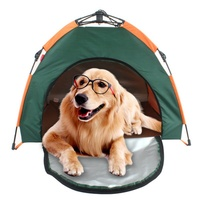 Portable Dog Travel Tents House Foldable Bed Pets Dogs Cats House Foldable Beds Dog Mats