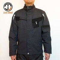 남성 캔버스 재킷 패션 캐주얼 코트