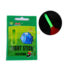 Vissen Fishing Fluorescent Lightstick Light Night Float Rod Lights  50pcs/10bags Dark Glow Stick Useful Lots fishing float