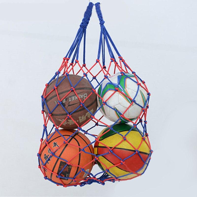 Thicken!Outdoor Sport Soccer Net Bag Pocket Volleyball Balls Holder Portable Durable Standard Nylon Thread Basketball Bag Net