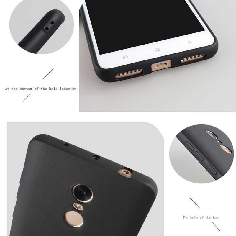 Матовый чехол TPU крышка для сяо mi красный mi Примечание 5 Pro 5 плюс 5A премьер 4X4 4A mi A1 mi 5X Черный Мягкие силиконовые чехлы для телефона Conque