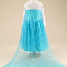 Snow Queen Party Dress & Costume For Girls