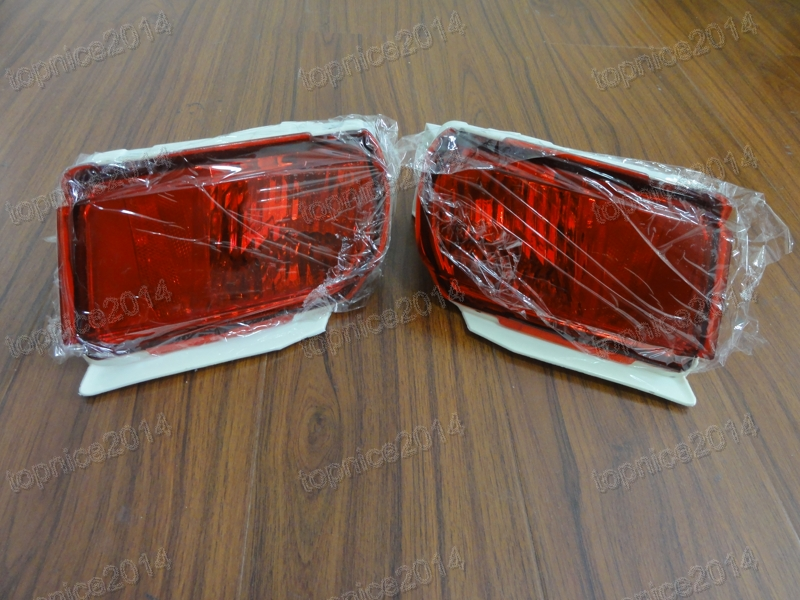 1Pair New Rear bumper lights fog lights For Toyota Land Cruiser Prado FJ150 2010-2015 2pcs pair front bumper spot fog lights for toyota land cruiser prado fj90 1997 1999