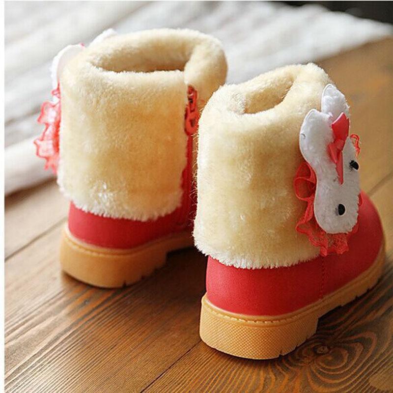 Winter-Childrens-Warm-Snow-Boots-Girls-Rabbit-PU-Leather-Platform-Winter-Boots-Princess-Short-boots-Kids-Winter-shoes-2
