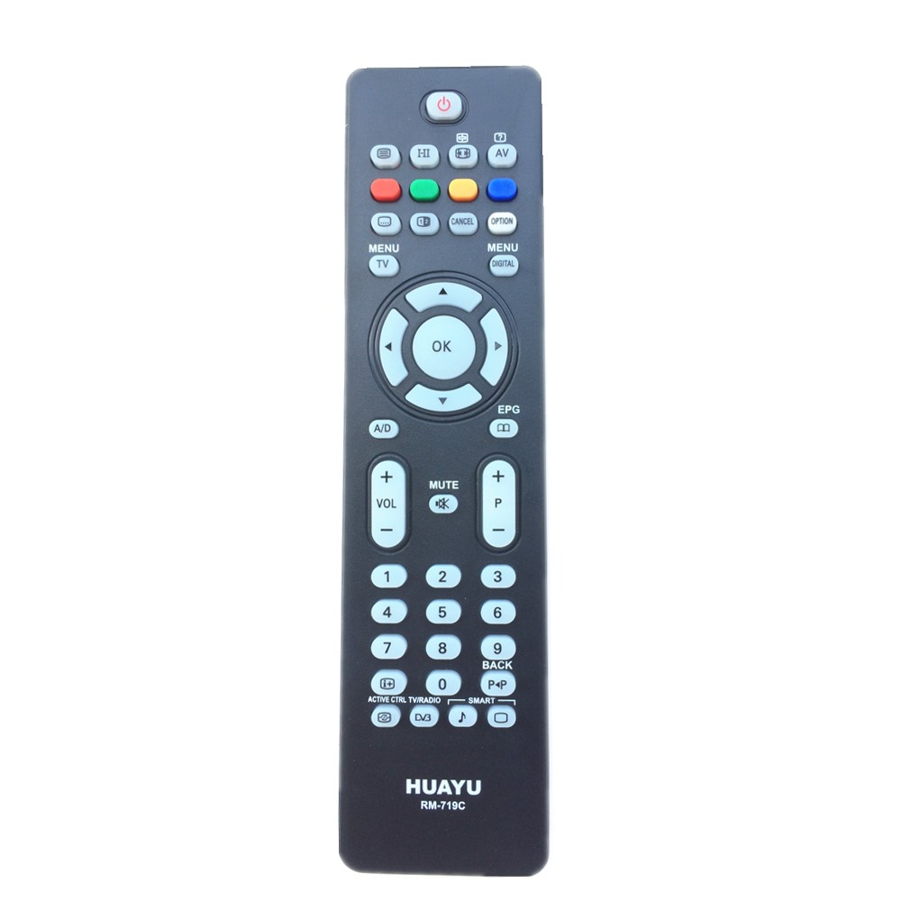 CRP660/01 For Philips Flat TV Remote Control 32PFL7772D/12 32PFL7782D/05 32PFL7782D/12 42PFL7772D/12 42PFL7782D/12