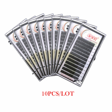 Russian/Camellia Volume lashes extensions,eyelash extension 10pcs/lot