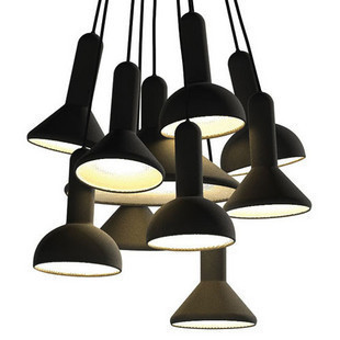 Personalized Horn Fashion Pendant Light Highly Stair Bedroom Pendant Light Brief