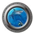 3D Shark Decoration Cartoon Home Decor Finding Nemo Wall Sticker for Refrigerator Kids Room