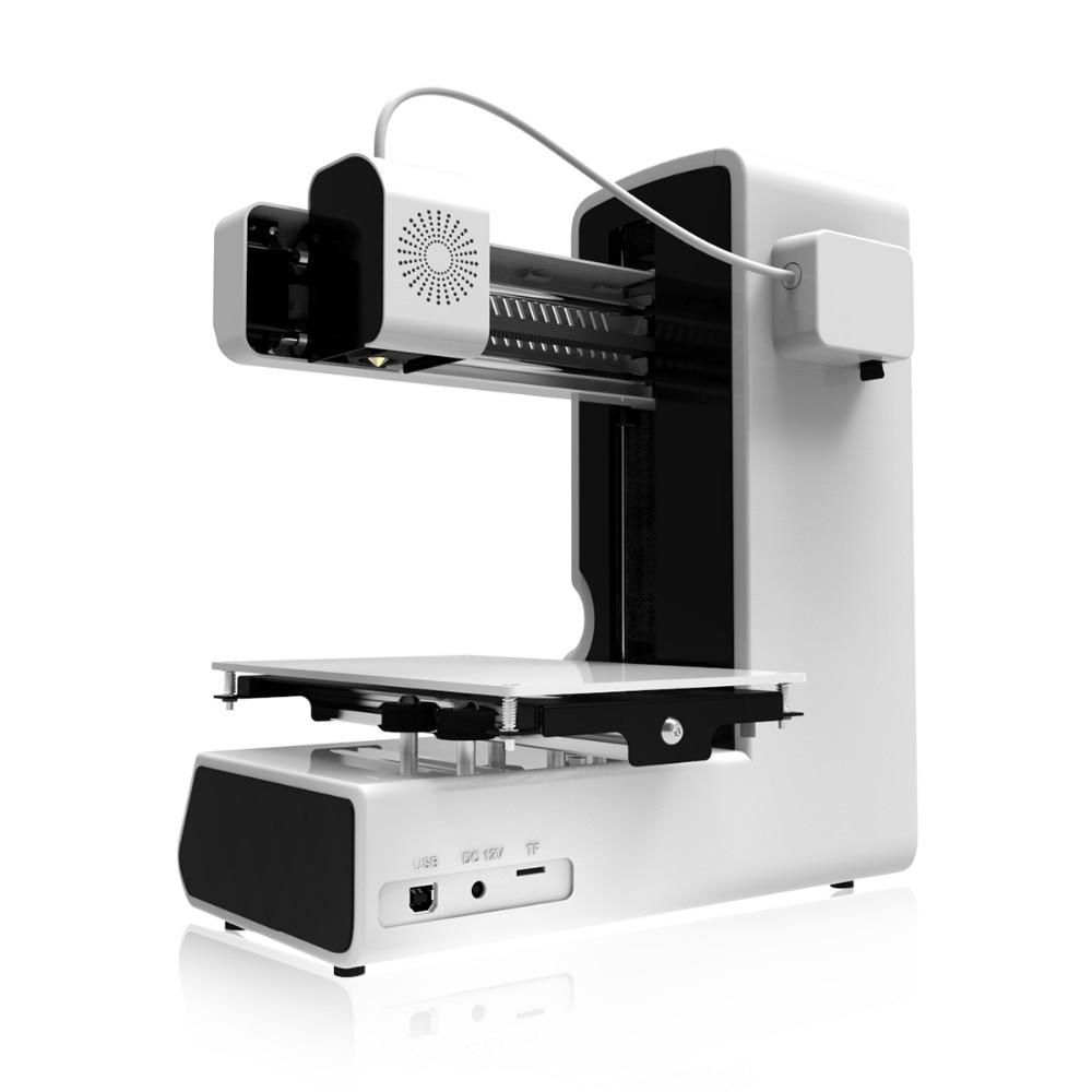 Geeetech Open Source Haute Précision 3D Imprimante E180 Wifi Connectivité Full Color Touch Écran 1.75mm 0.4 m Date 3d imprimantes - 5