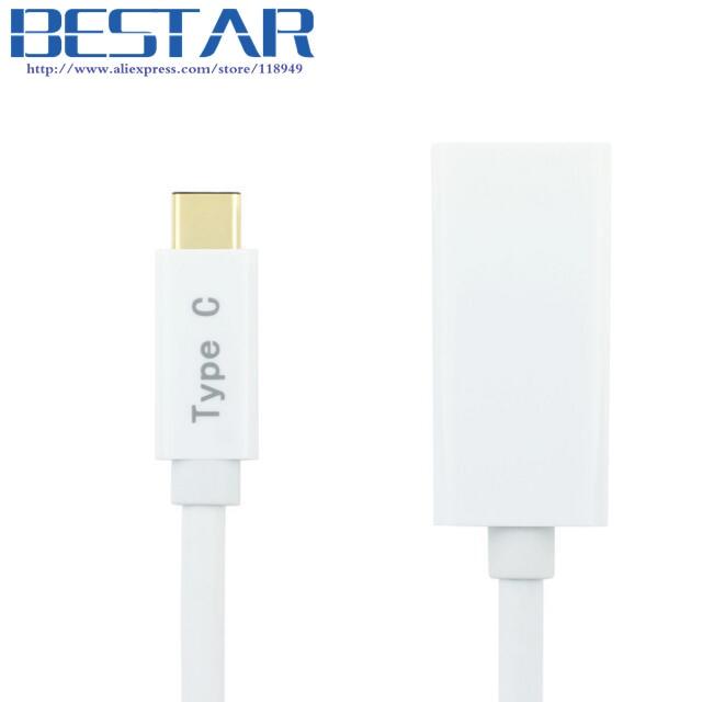 4K * 2K USB-C Tipo C Adaptador de audio y video AV digital, USB3.1 - Cables de computadora y conectores - foto 2