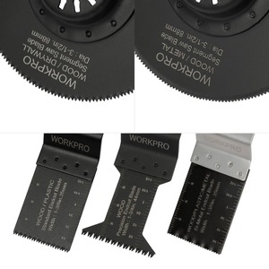 Image 3 - WORKPRO 23PC Saw Blades Multi Tool Oscillating Saw Blades for Dremel Bosch Milwaukee Quick Release Saw Blades for Metal/wood