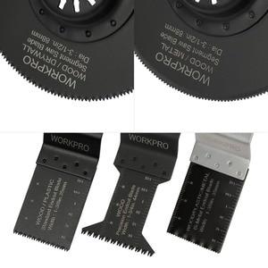 Image 3 - Workpro 23Pc Zaagbladen Multi Tool Oscillerende Zaagbladen Voor Dremel Bosch Milwaukee Quick Release Zaagbladen Voor Metaal/Hout