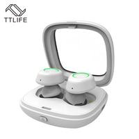 TTLIFEมินิไร้สายบลูทูธ4.1หูฟังTWS-T01กีฬาH Andfreeหูฟังยาวรอรับสายหูฟังที่มีHDไมโครสำหรับโทรศัพท์Xiaomi