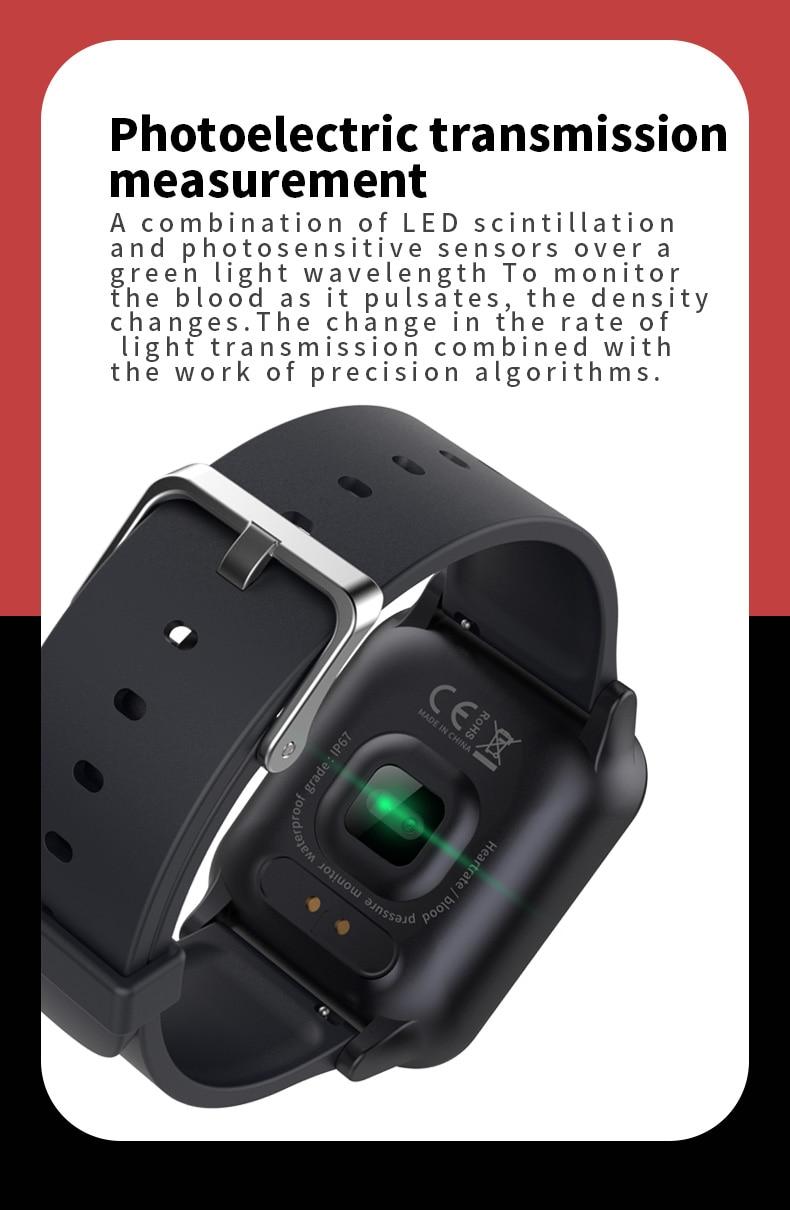 SZMDC Smart Bracelet OLED Color Screen Smart Watch Step Heart Rate Monitor  Smart Sport Band Fitness Tracker Smart Wrisband