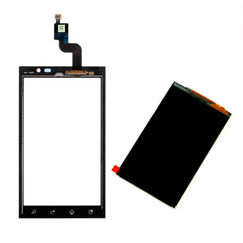 Black For LG Optimus 3D P920 Touch Screen Digitizer Sensor Glass + LCD Display Screen Panel Monitor Replacement
