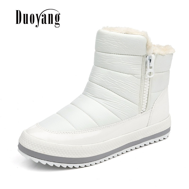 Autumn and Winter Snow ankle Boots Women 2017 New Waterproof Anti Skid In The Elderly Cotton rain Boots Keep Warm Mother Shoes 50 pieces metric m4 zinc plated steel countersunk washers 4 x 2 x13 8mm