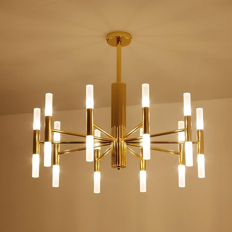 Nordic Led Chandeliers 20 Heads Dining Living Room Restaurant Lighting Fixtures Luminaire Lustres Industrial Vintage Chandelier