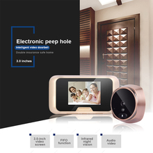 3.1″ Peephole Doorbell 1.3MP HD Night version Camera House Visitor talk-back Intercom system Video door phone wide angle viewing