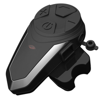 Noise Cancellation Earphone Helmet Headset Motorcycle Music Intercom FM Radio Wireless Bluetooth Portable Lightweight