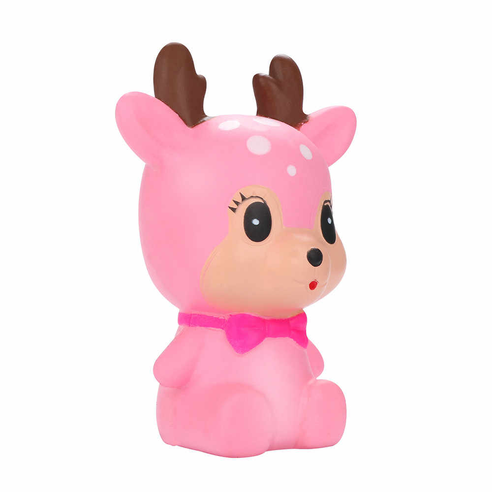 Мягкое ароматизированное снятие стресса, милый олень, супер медленно поднимающаяся детская игрушка, мягкое смешное мягкое антистрессовые игрушки для детей